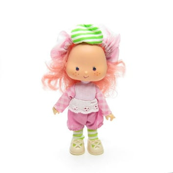 Raspberry Tart Doll Vintage Strawberry Shortcake Toy with Complete Outfit