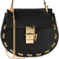 Chloé 'drew' Shoulder Bag With Chain Detail - O' - Farfetch.com