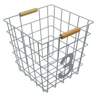 Circo™ Number 3 Wire Decorative Basket 3-Grey Birch
