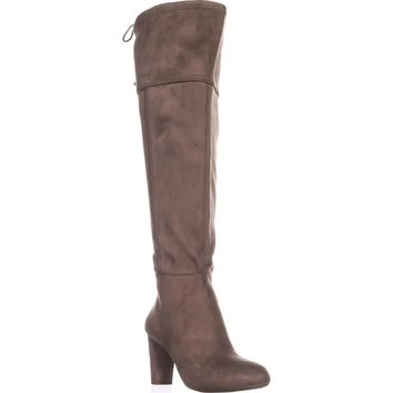 I35 Hadli Wide Calf Over The Knee Boots, Warm Taupe, 7.5 US