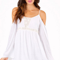 Parade Around Cold Shoulder Dress $36