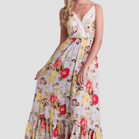 Belluno Gardens Maxi Dress