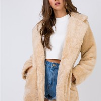 Zanderfleek Faux Fur Jacket