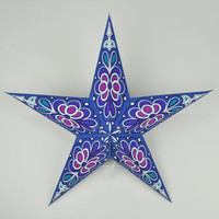 Cut-Out Funky Paper Star Lantern