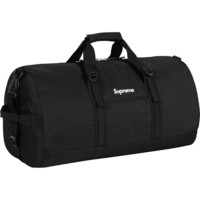 Supreme: Duffle Bag - Black