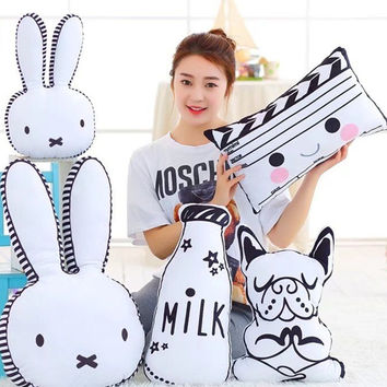 Kawaii Rabbit baby cushion pillow nijntje pillows for kids travel cuscini bambini boppy pillow kussen baby bebek yastik kissen