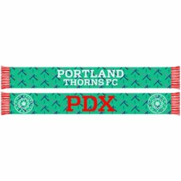 Exclusive - Portland Thorns FC PDX Carpet Scarf - Aqua Pre-Order: Ships May 15th