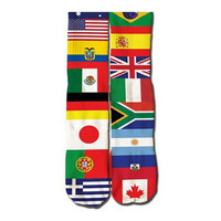 World Flags Socks