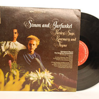 Simon and Garfunkel - Parsley Sage Rosemary And Thyme LP Album 1966 Vinyl Record Folk Rock Country Vocal Pop