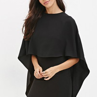 Layered Cape Dress