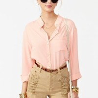 Slasher Flick Cutoff Short - Tan in What's New at Nasty Gal