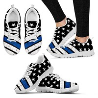 Thin Blue Line Sneakers EXP