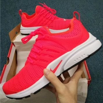 One-nice™ NIKE Air Presto White Small Hook NIKE Air Presto Khaki Fashion Women/Men Running Sport Casual Cushion Shoes Sneakers R