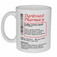 Coffee Prescription Funny Coffee or Tea Mug