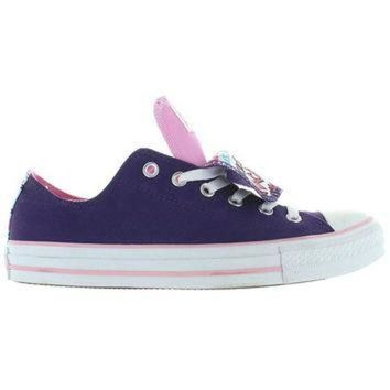 CREYUG7 Converse All-Star Chuck Taylor 2X Tongue - Grape/Lady Pink Canvas Double Tongue Low To