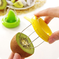 Newest Creative Mini Kiwi Peelers 2-In-1 Kitchen Tools Kiwi Cutter Fruit Tools Top Quanlity