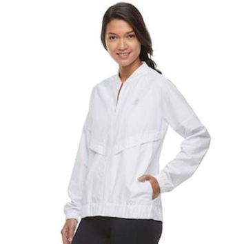 MDIGPL3 Women's FILA SPORT® Zip-Up Windbreaker Jacket | null