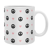 Elisabeth Fredriksson A little peace and love Coffee Mug