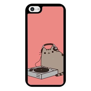 Pusheen The Cat Dj iPhone 5/5S/SE Case