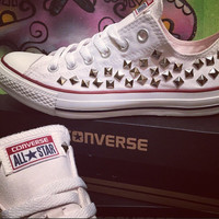 Custom Studded Converse All Star- Chuck Taylor - ALL SIZES & COLORS!!!