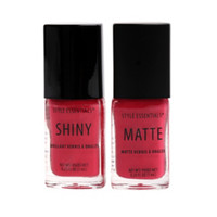 Pink French Twist Nail Polish Set