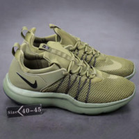 """""""NIKE"""" Women Popular Sneakers Breathable Running Sport Shoes Army green G-A-YYMY-XY"""