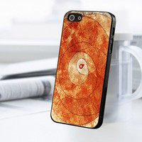 Orange Abstract Painting iPhone 5C Case