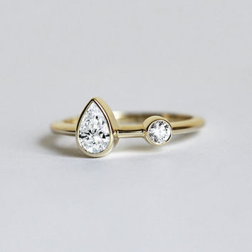 best unique simple engagement rings products on wanelo