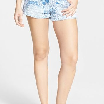 Junior Women's Rip Curl 'Painted Desert' Denim Shorts ,