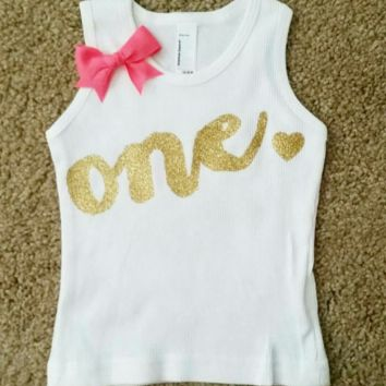 Birthday Age Shirt  -Childrens Clothing  - Ruffles with Love - Baby Clothing - RWL Kids