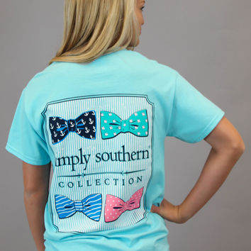 Simply Southern Tee - Bow Ties