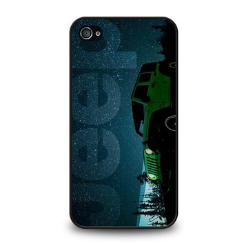 JEEP I LOVE STARRY NIGHTS iPhone 4 / 4S Case