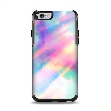 The Tie Dyed Bright Texture Apple iPhone 6 Otterbox Symmetry Case Skin Set