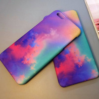 Tie-dyed iPhone 7 7 Plus & iPhone 6 6s Plus & iPhone 5s se Case Personal Tailor Cover + Gift Box-317