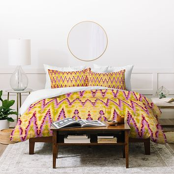 Ingrid Padilla Bohemian Romantic Yellow Duvet Cover