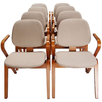 Thonet Bentwood Chairs, S/8