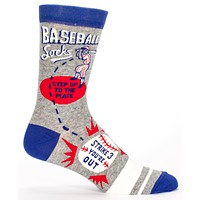 Men's Baseball Socks Step Up to the Plate in Grey, White and Blue