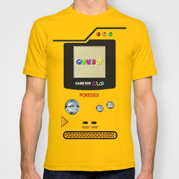Retro Nintendo Gameboy pokemon pokeball pokedex Adult Tee T-shirt by Three Second