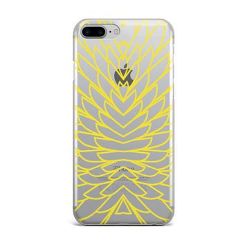 Yellow Wings iPhone Case