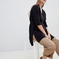 French Connection Mozert Ottoman wrap cardigan at asos.com