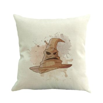 Sorting Hat Pillow Cover