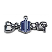 Doctor Who Bad Wolf Doctor Who Logo Pendant