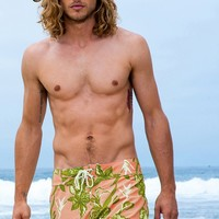 Sauvage Hawaiin Surf Shorts - Mens Designer Shorts
