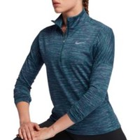 Nike Women's Dry Element Half Zip Long Sleeve Running Shirt | DICK'S Sporting Goods