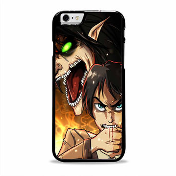 attack on titan recon corps anime cartoon Iphone 6 plus Cases