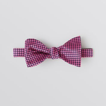 Thomas Pink Clarence Houndstooth Bow Tie
