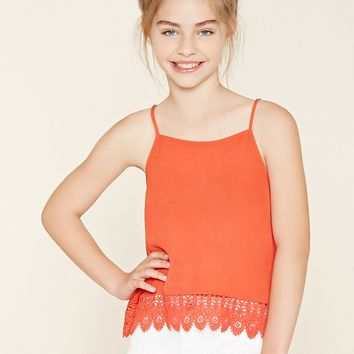 Girls Crochet-Hem Cami (Kids)