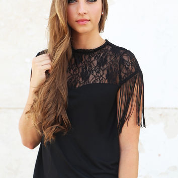 Lovely In Lace {Black}