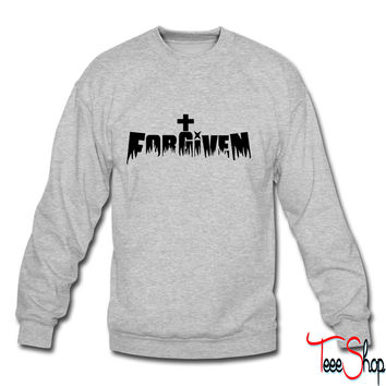 Forgiven by Jesus crewneck sweatshirt