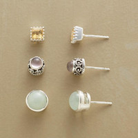 MELLOW MIX TRIO, SET OF 3         -                  Stud         -                  Earrings         -                  Jewelry                       | Robert Redford's Sundance Catalog
